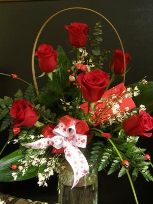 Rózsacsokor Valentin napra