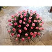 60 szálas rózsacsokor